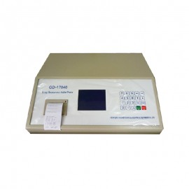 X-ray Fluorescence Sulfur in Oil Analyzer GOLD GD-17040